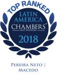 Chambers 2018 - Latin America - Pereira Neto Macedo Advogados